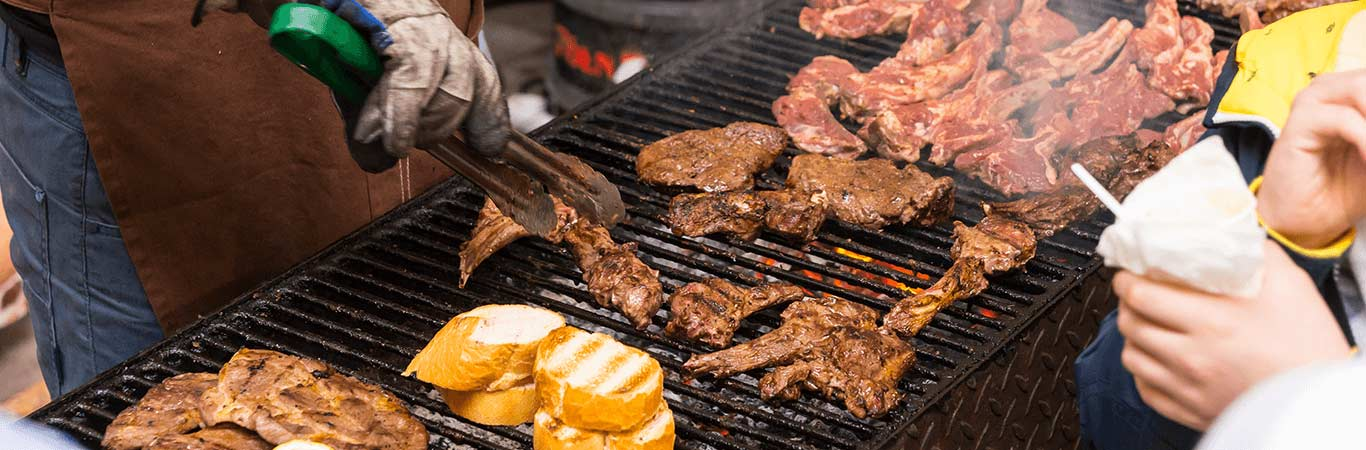 Why not add on a delicious outdoor BBQ to your stag do activity in Edinburgh with Great Away Days.
